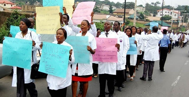 Nigerian Association of Resident Doctors to embarks on nationwide strike